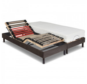 Ensemble ULTRA ONE, Matelas Impression Visco-Ressorts