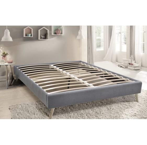 sommier en kit essenzia style scandinave. Black Bedroom Furniture Sets. Home Design Ideas