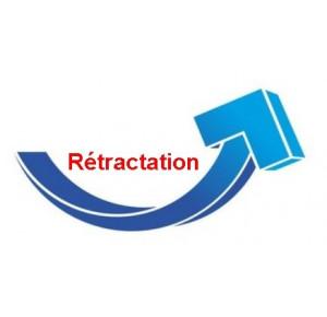 Rétractation et reprise matelas et sommiers (1 colis)