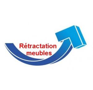 Rétractation et reprise 2 colis