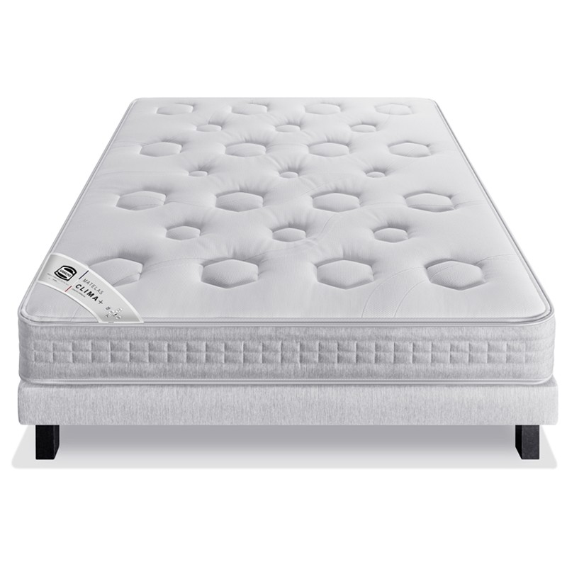 Ensemble matelas clima plus sommier pieds collection - Matelas simmons collection quietude ...
