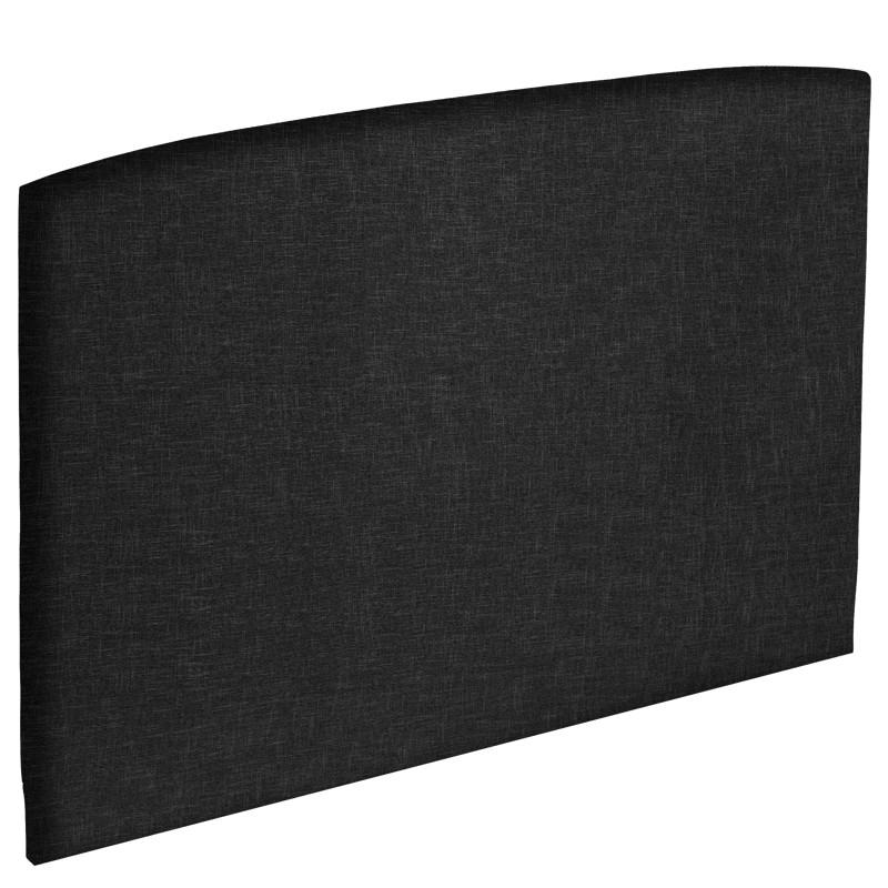 tete de lit galbe deco epeda literie dosseret 1001lits. Black Bedroom Furniture Sets. Home Design Ideas