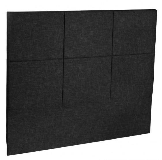 tete de lit carre chic epeda literie dosseret 1001lits. Black Bedroom Furniture Sets. Home Design Ideas