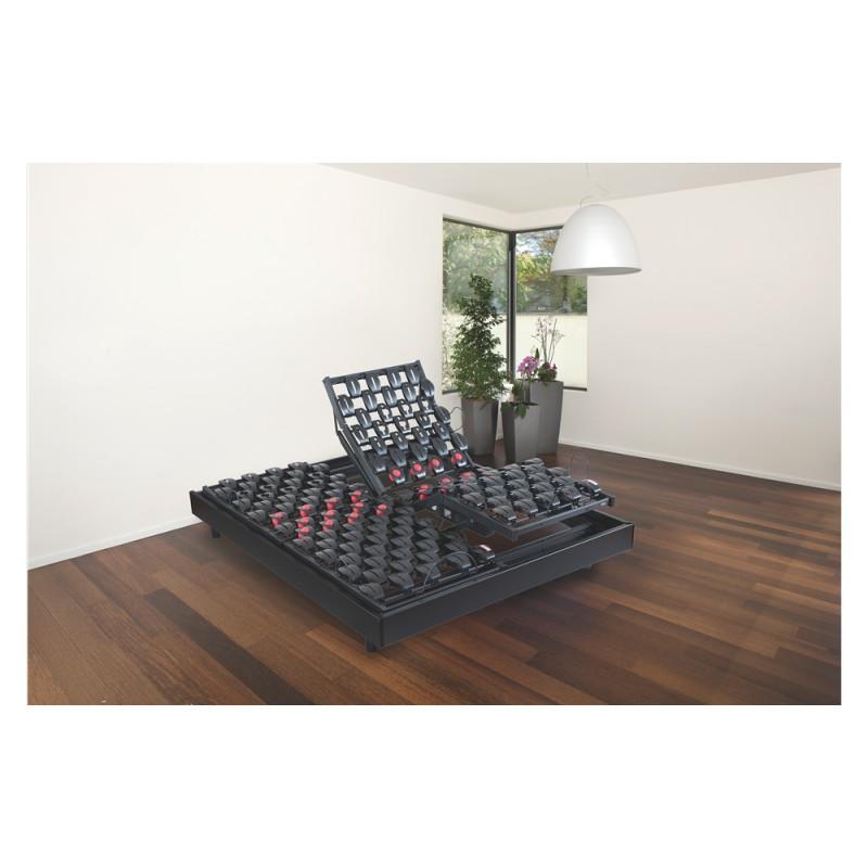 bultex wave 600 literie electrique plots avec cadre acier. Black Bedroom Furniture Sets. Home Design Ideas