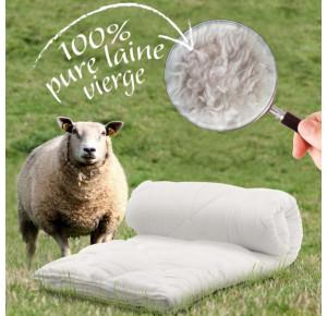 Couette en laine hollandaise