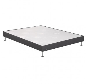 Sommier Confort ferme Dark grey chiné