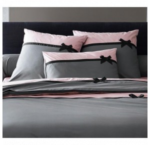 PERCALE FROU-FROU ANTHRACITE