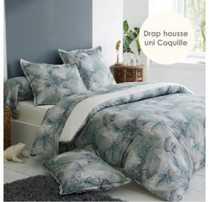 PERCALE TROPICAL - COLORIS COQUILLE