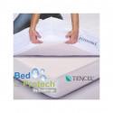 100% TENCEL TÊTE ET PIEDS RELEVABLES BED & PROTECH' TENCEL- 2 EN 1