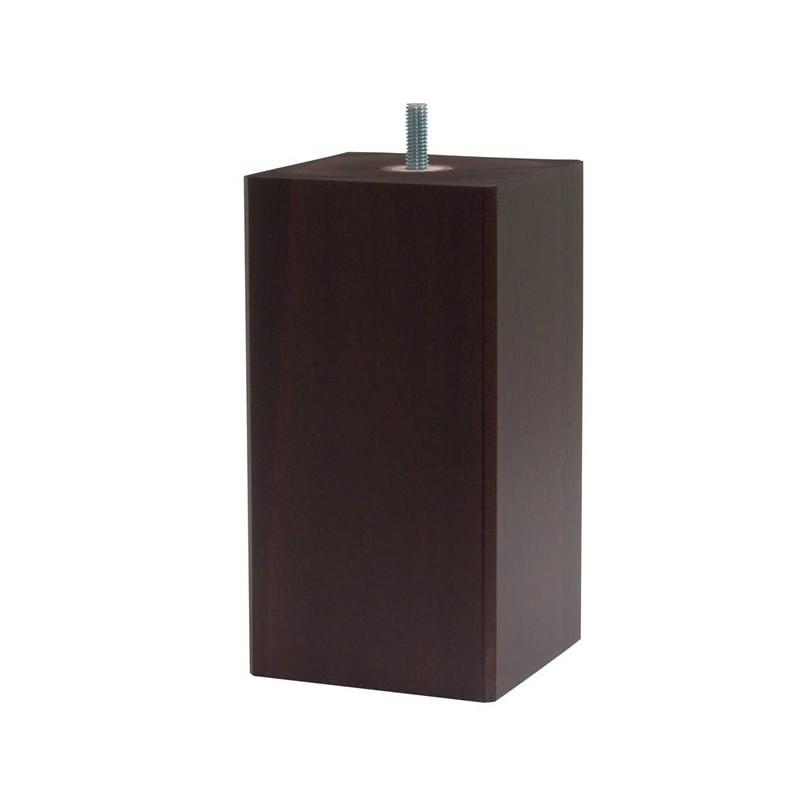 pieds de lit carr s. Black Bedroom Furniture Sets. Home Design Ideas