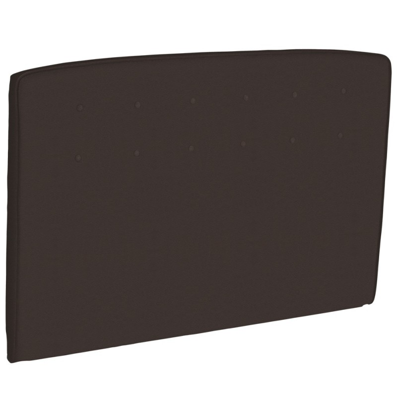 Dosseret epeda capitonn hauteur 120 cm chocolat style cuir - Tete de lit cuir capitonne ...