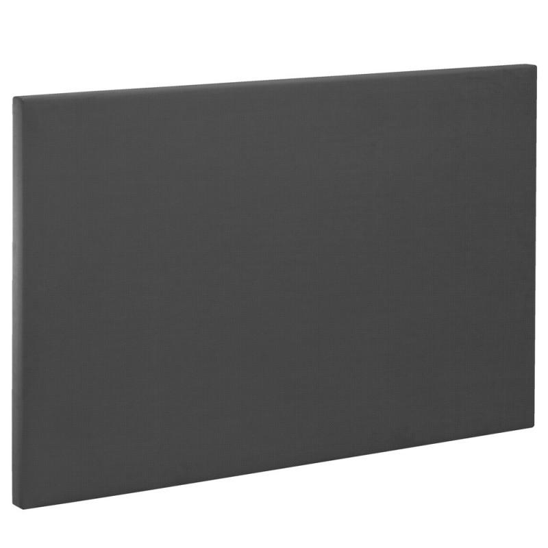 t te de lit bultex decoration hauteur 120 cm etna anthracite. Black Bedroom Furniture Sets. Home Design Ideas