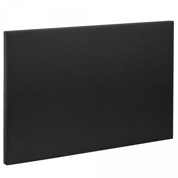 t te de lit bultex decoration hauteur 120 cm etna enduit black. Black Bedroom Furniture Sets. Home Design Ideas