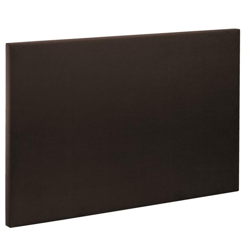 t te de lit bultex decoration hauteur 120 cm etna dark. Black Bedroom Furniture Sets. Home Design Ideas