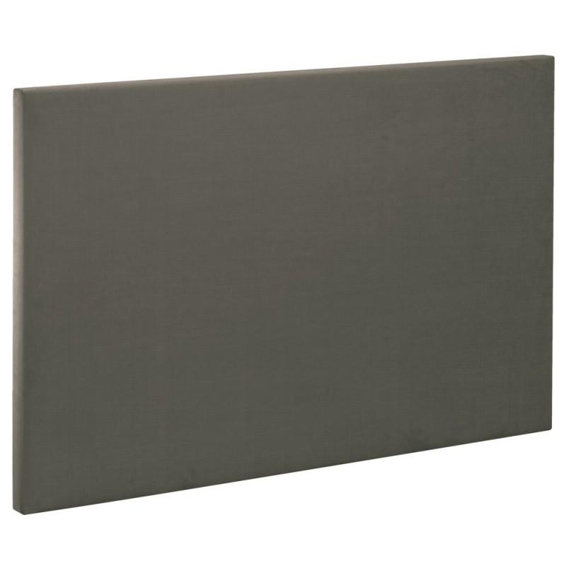 t te de lit bultex decoration hauteur 120 cm etna gris fum. Black Bedroom Furniture Sets. Home Design Ideas