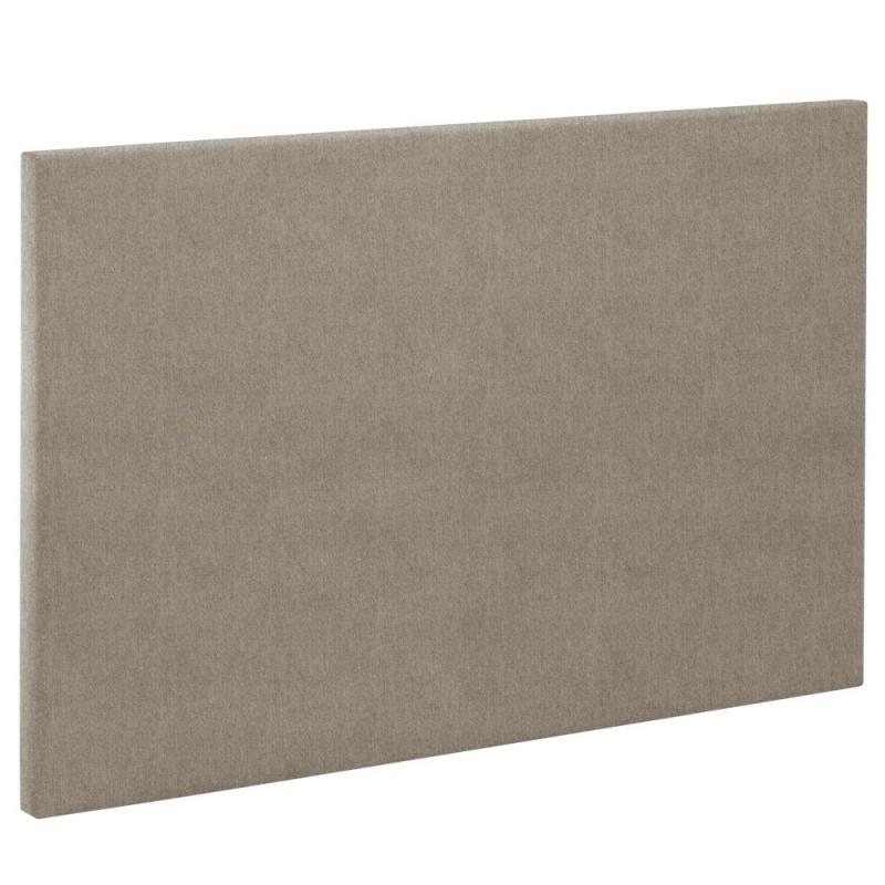 t te de lit bultex decoration hauteur 120 cm etna marron glac. Black Bedroom Furniture Sets. Home Design Ideas