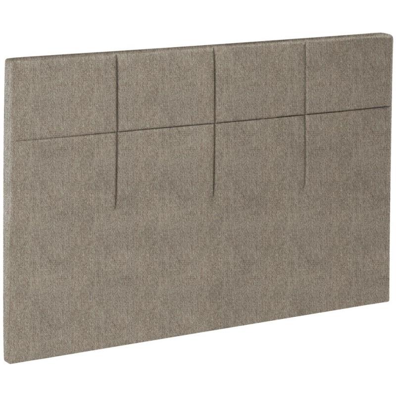 t te de lit bultex decoration hauteur 120 cm salina chin marron glac. Black Bedroom Furniture Sets. Home Design Ideas