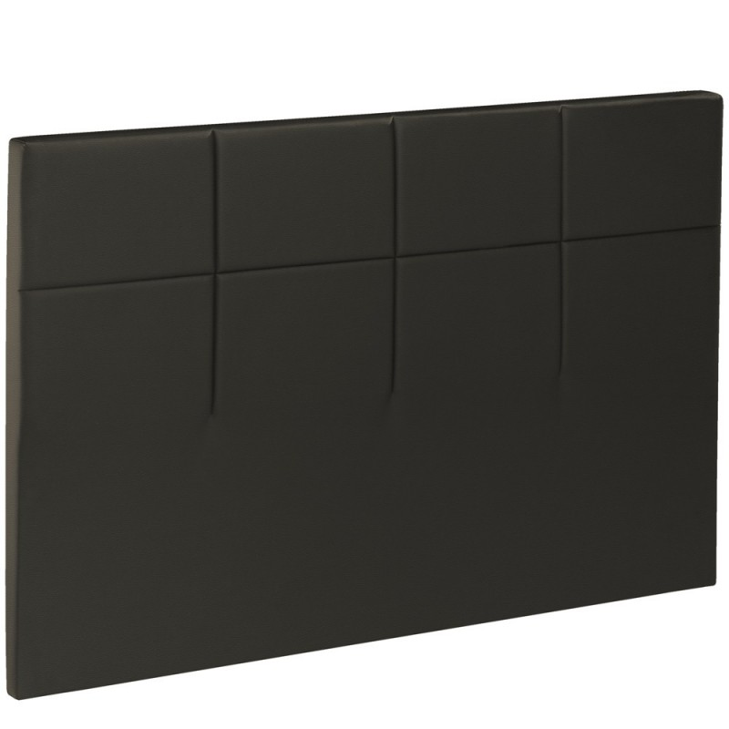 t te de lit bultex decoration hauteur 120 cm salina dark chocolate. Black Bedroom Furniture Sets. Home Design Ideas
