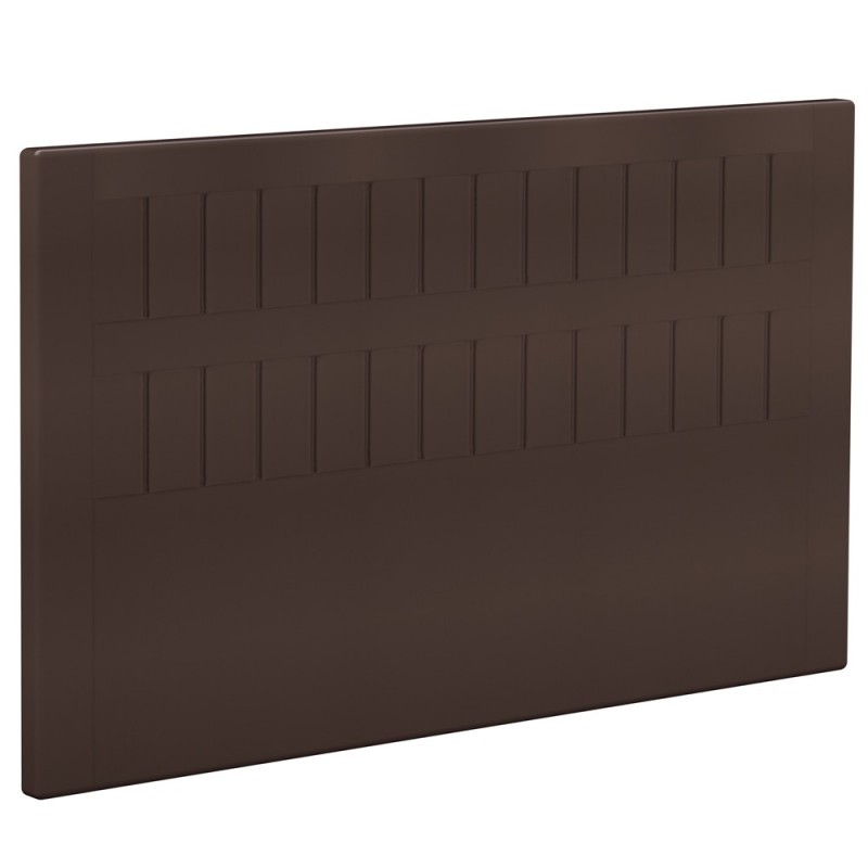 t te de lit bultex decoration hauteur 120 cm stromboli dark chocolate. Black Bedroom Furniture Sets. Home Design Ideas