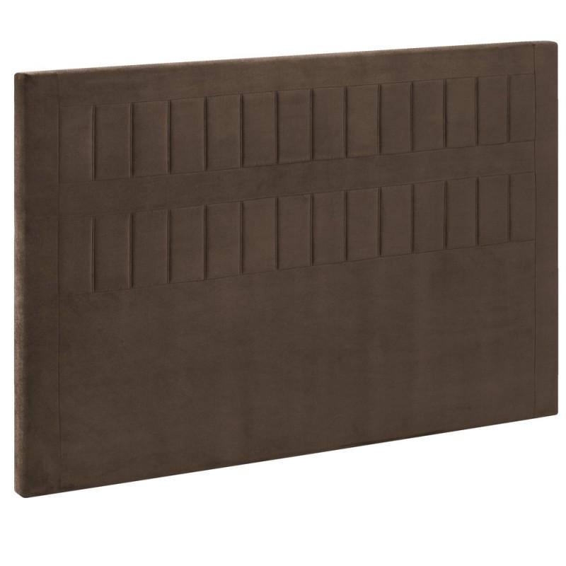 t te de lit bultex decoration hauteur 120 cm stromboli vison. Black Bedroom Furniture Sets. Home Design Ideas