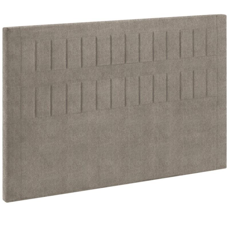 t te de lit bultex decoration hauteur 120 cm stromboli chin marron glac. Black Bedroom Furniture Sets. Home Design Ideas