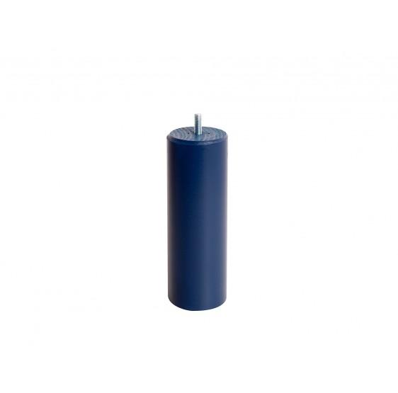 4 pieds Cylindrique Bleu