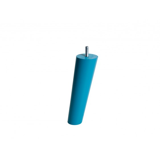 4 pieds Fuseaux Turquoise