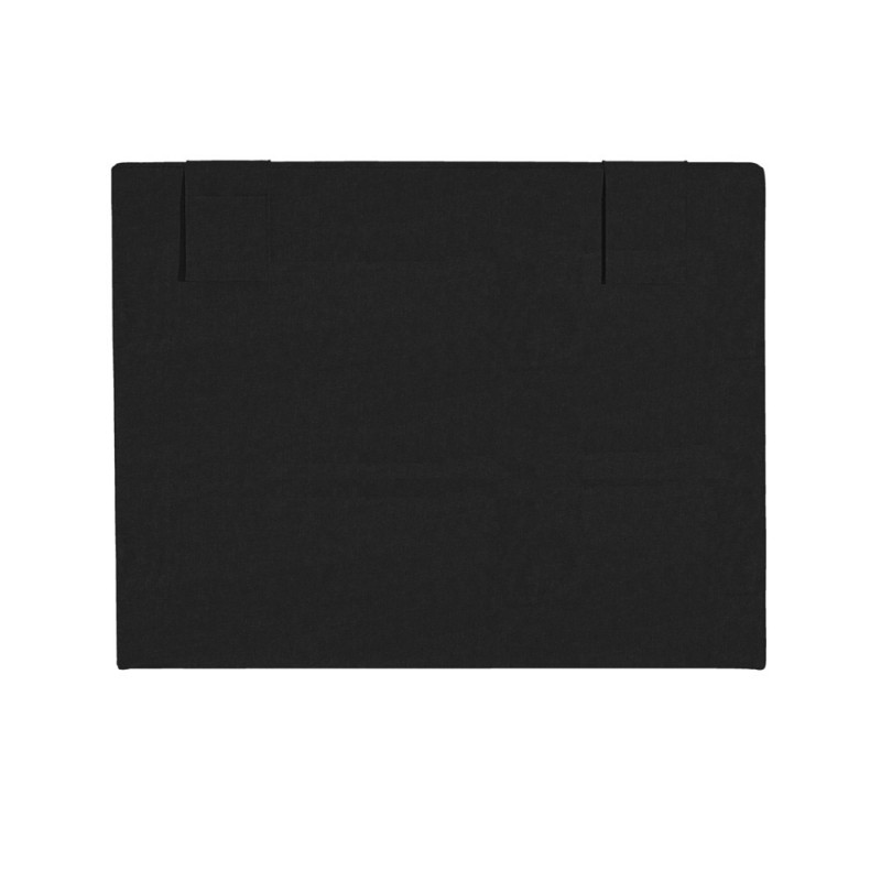 t te de lit merinos decoration hauteur 120 cm hopla gris. Black Bedroom Furniture Sets. Home Design Ideas