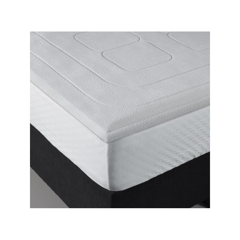 surmatelas memoire de forme bultex 140x190 maison design. Black Bedroom Furniture Sets. Home Design Ideas