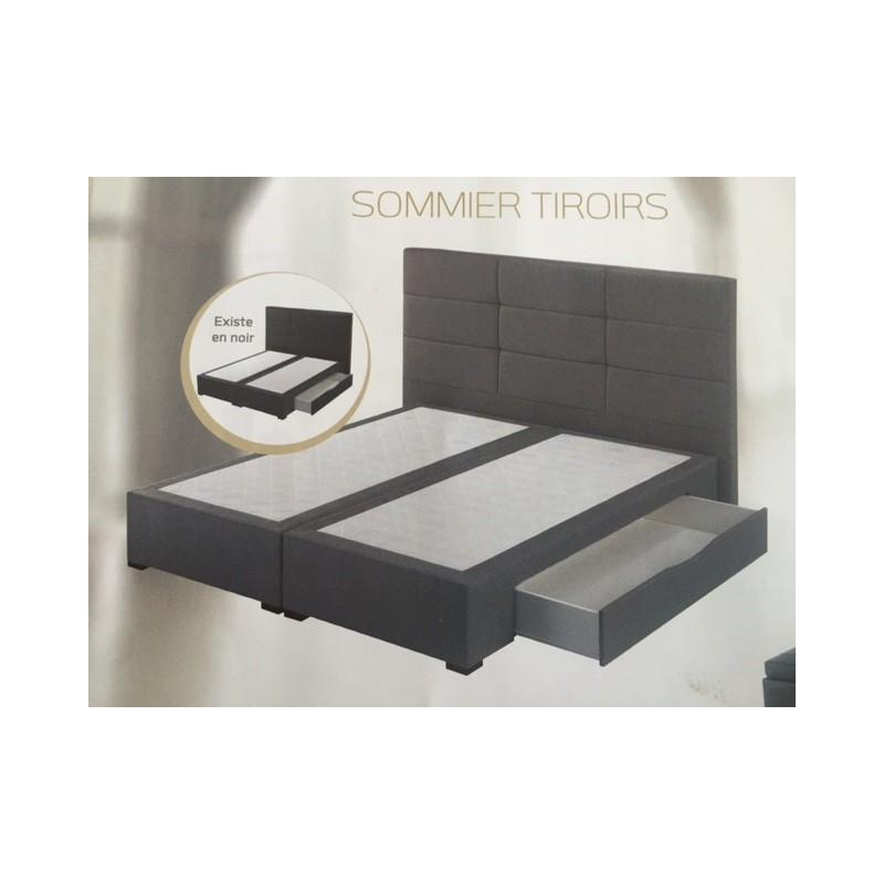 Sommier tiroirs astoria crown bedding literie - Sommier coffre dunlopillo ...