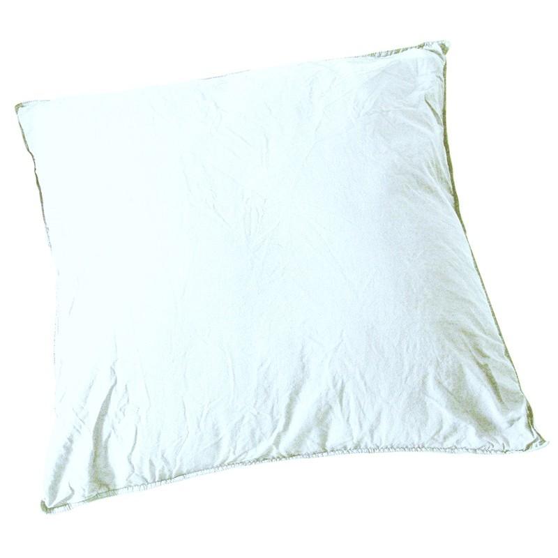 taie d oreiller coton taie d 39 oreiller coton uni jaune soleil d 39 ocre achat taie d 39. Black Bedroom Furniture Sets. Home Design Ideas
