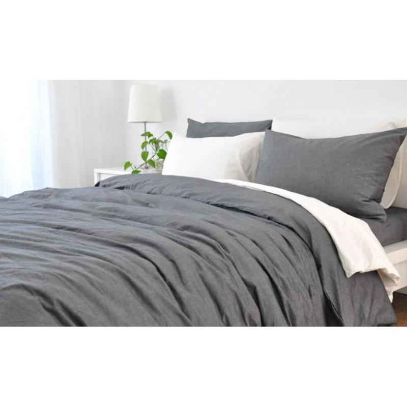 housse de couette sonate vent du sud lin lav literie linge. Black Bedroom Furniture Sets. Home Design Ideas