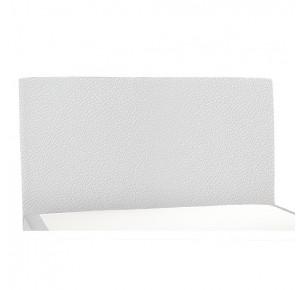 Tête de lit dosseret Simili cuir blanc
