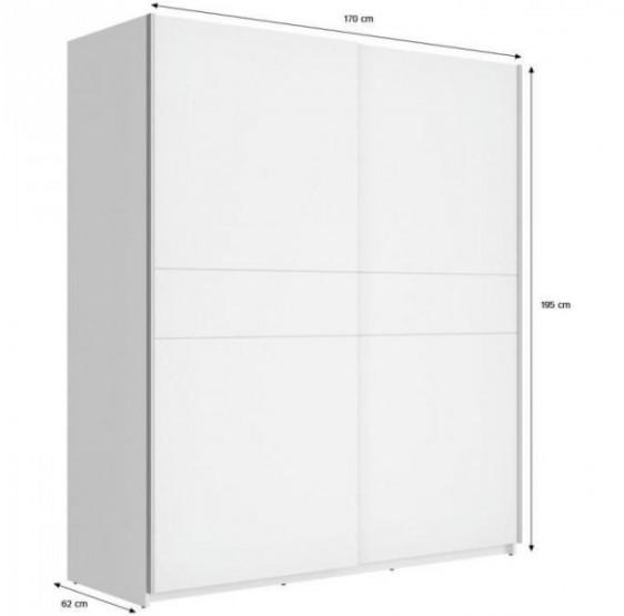 armoire 170 cm largeur my blog. Black Bedroom Furniture Sets. Home Design Ideas