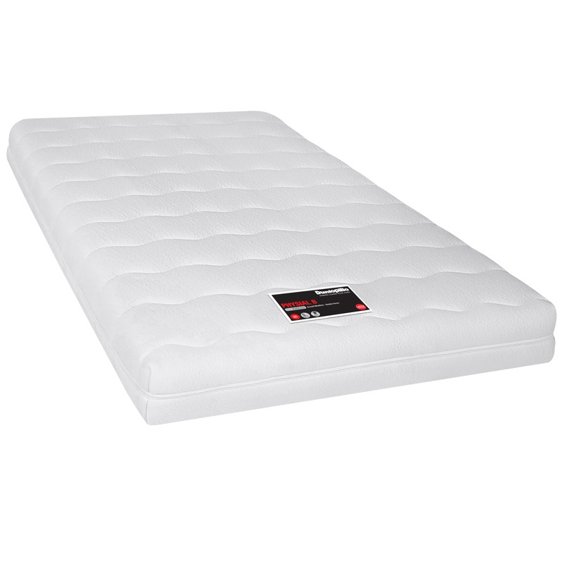 matelas physial b latex dunlopillo me multizones literie. Black Bedroom Furniture Sets. Home Design Ideas
