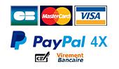 Différentes méthodes de paiement